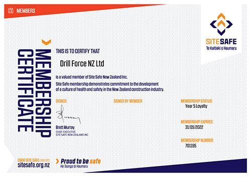 Image of Site Safe membership